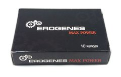 Препарат для потенции Erogenes Max Power БАД (10 капсул)