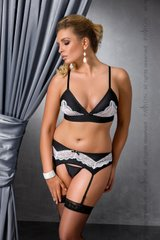 CAMILLE SET black 4XL/5XL - Passion